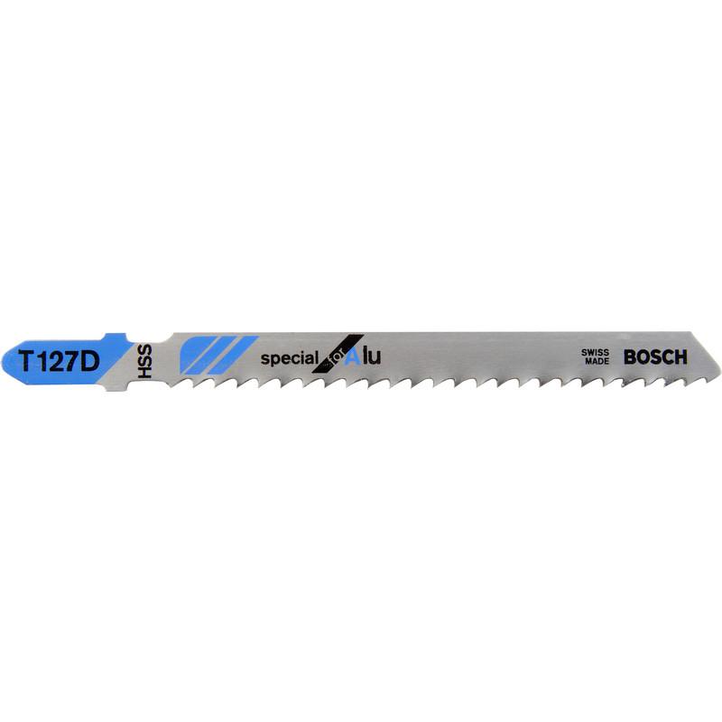 Bosch Bayonet Jigsaw Blade T127d Aluminium
