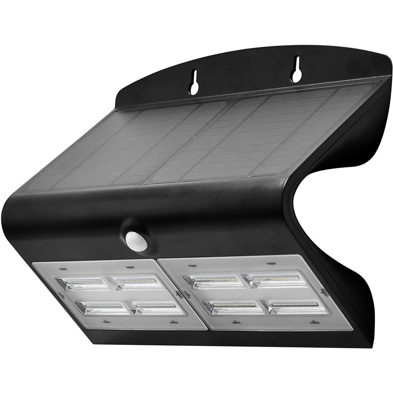 Luceco SOLAR Guardian 6.8W PIR Wall Floodlight IP44