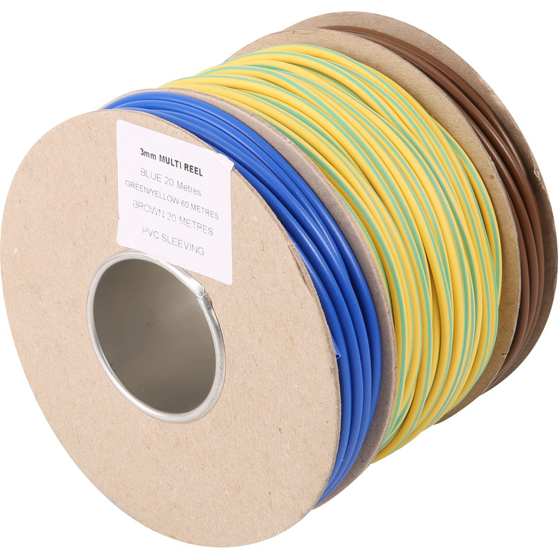 PVC Cable Sleeving Multi Reel