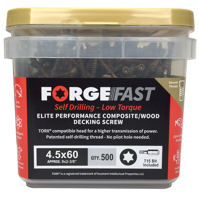 ForgeFast Decking Screw Composite Boards