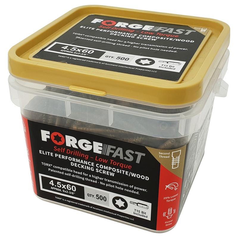 ForgeFast Decking Screw Composite Boards