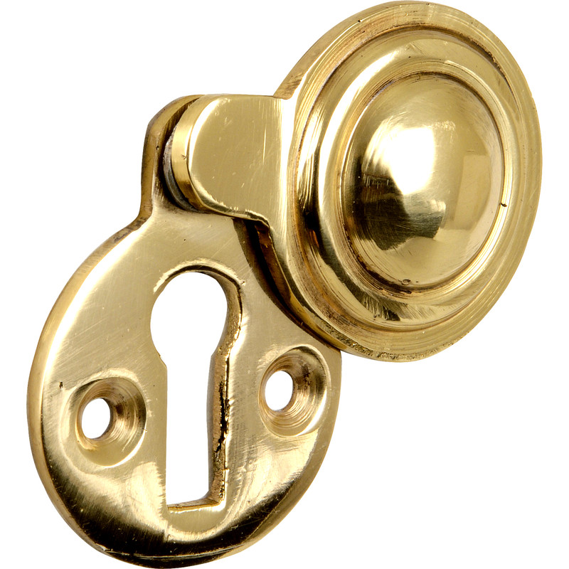 sc 1 st  Toolstation & Victorian Covered Escutcheon Brass