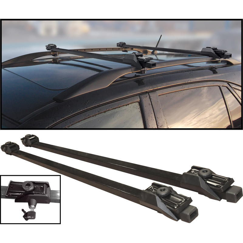 Anti-Theft Lockable Universal Roof Bar