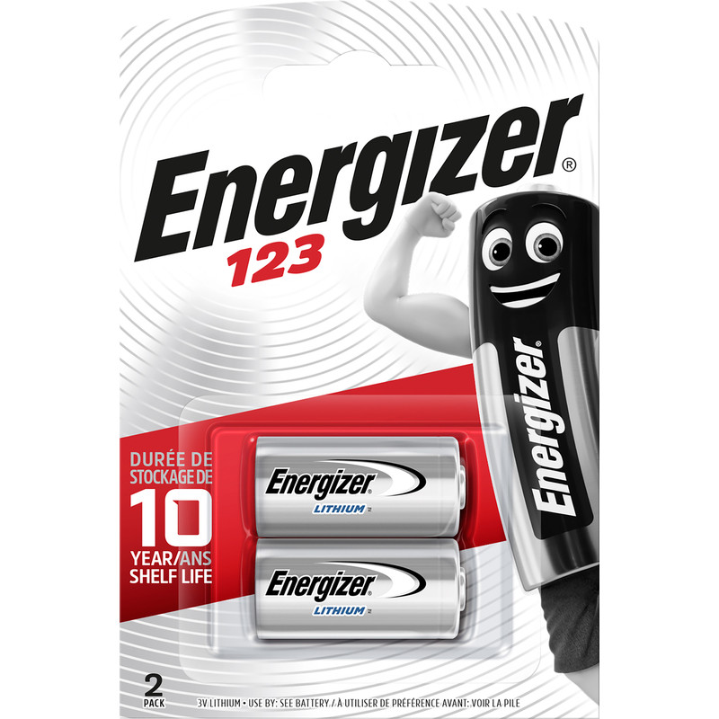 Energizer Lithium Photo 123 FSB2 #