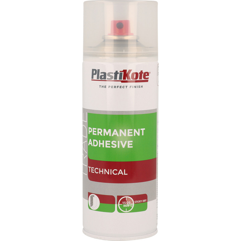 Plastikote Permanent Adhesive 400ml