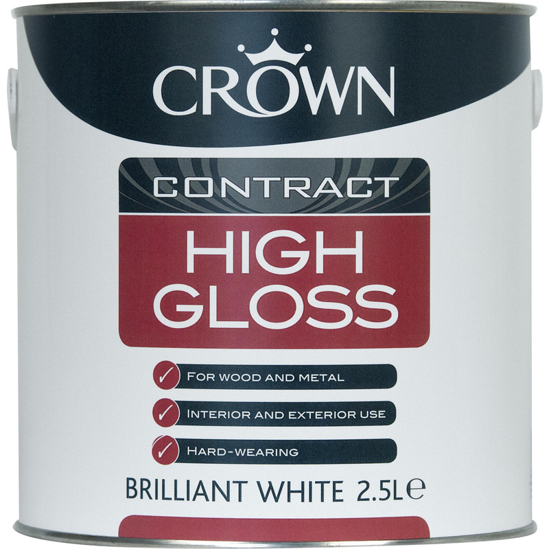 Crown Contract High Gloss Paint