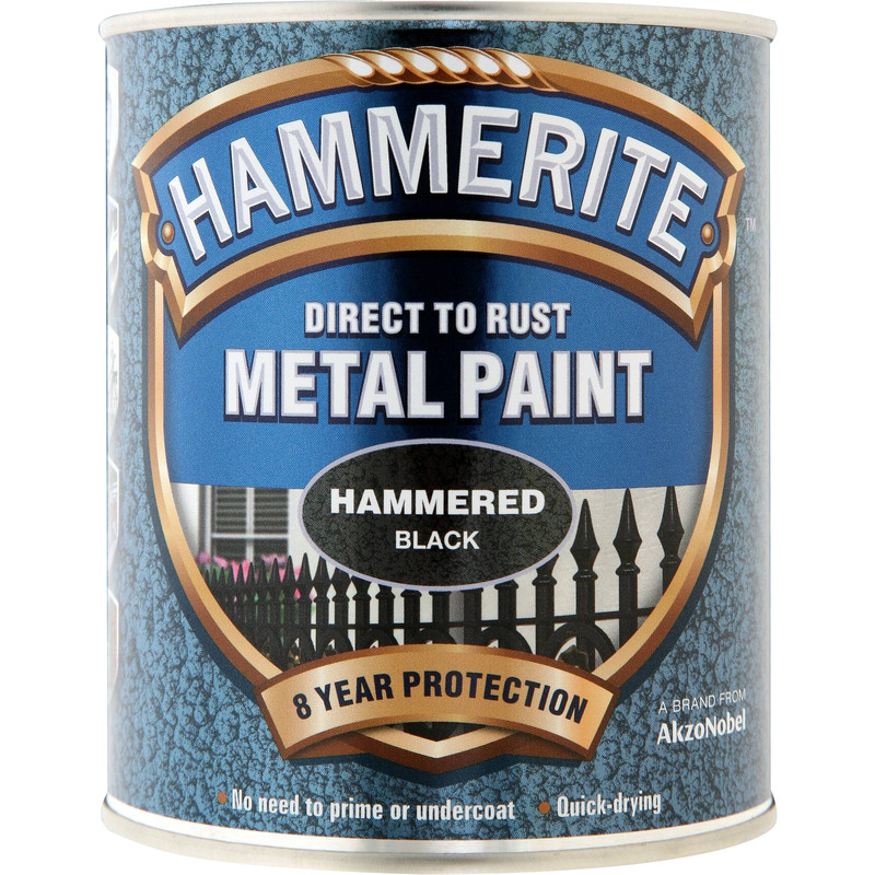 Hammerite Metal Paint Hammered 750ml