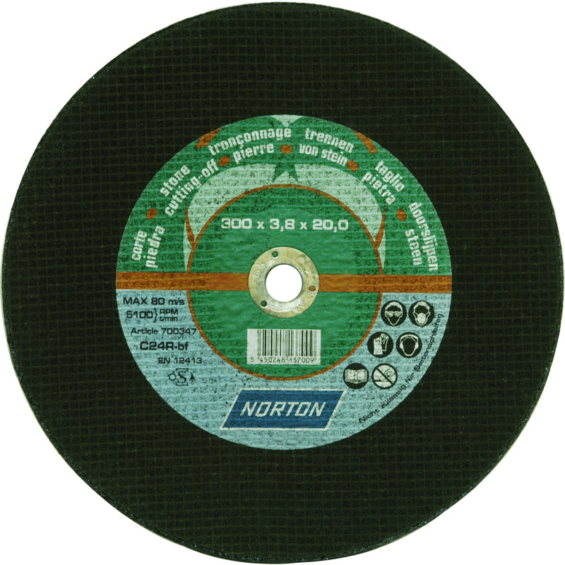Flat Stone Cutting Disc
