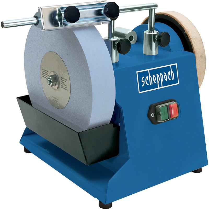 Scheppach TIGER2500 200W 250mm Wet Stone Sharpener