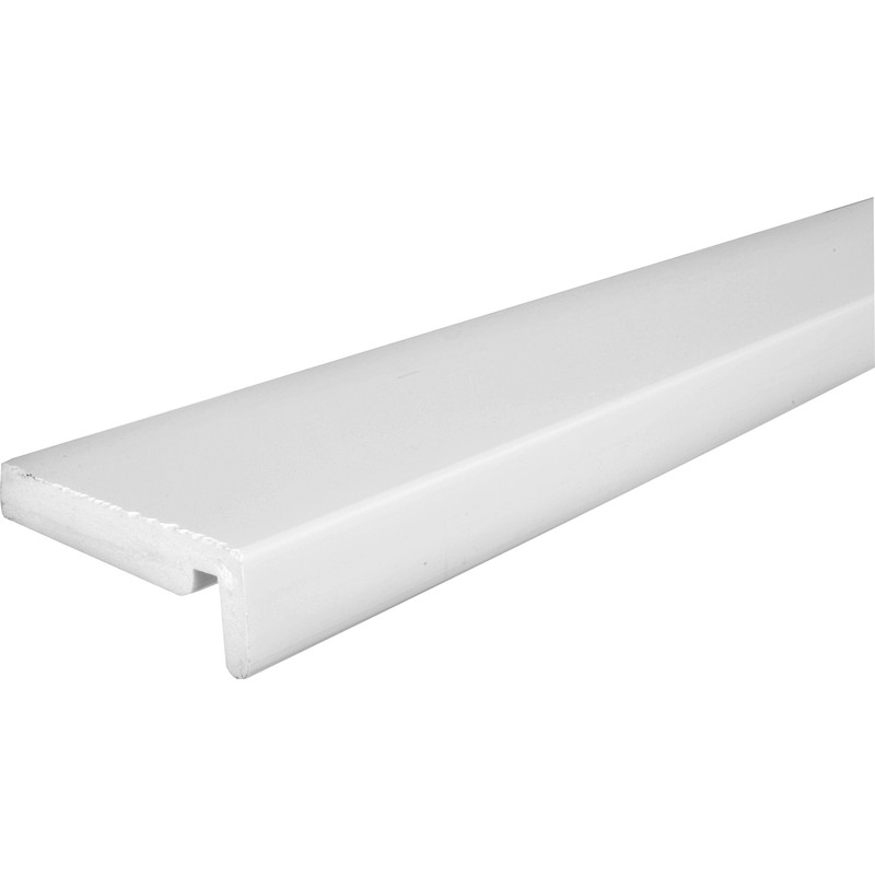 16mm White Fascia Board