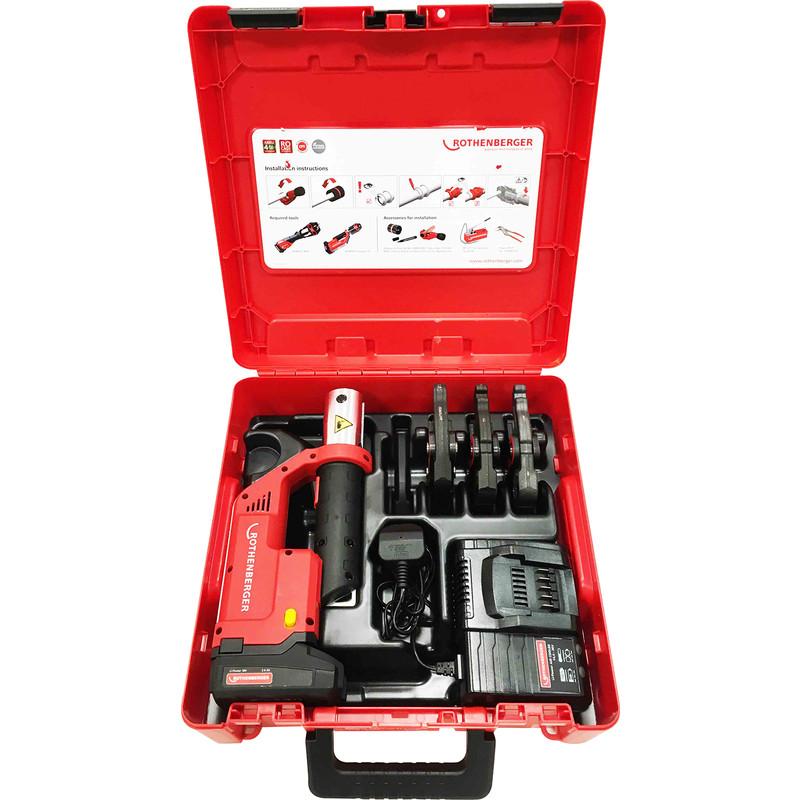 Rothenberger Compact TT Press Jaw Set