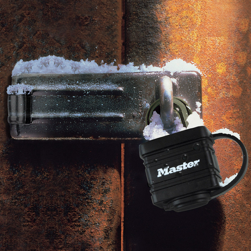 Master Lock Weather Tough Laminated Steel Padlock