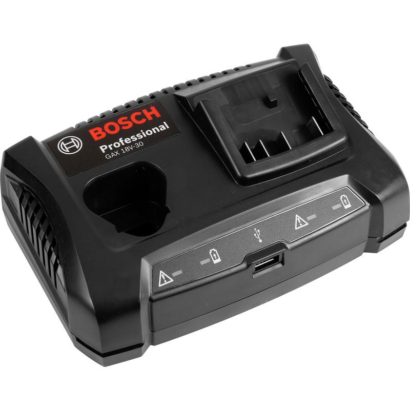 Bosch GAX 18V-30 10.8 - 18V Dual Battery Charger