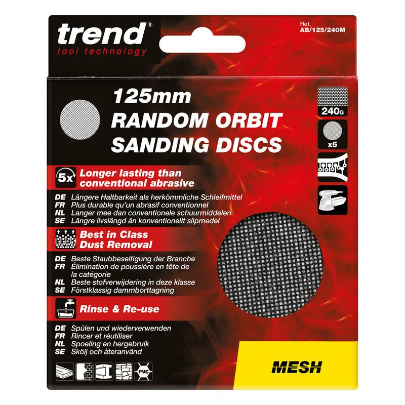 Trend Mesh Sanding Disc 125mm