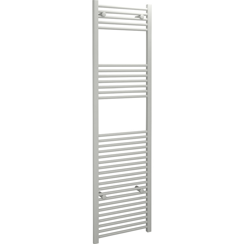 Kudox White Flat Ladder Towel Radiator