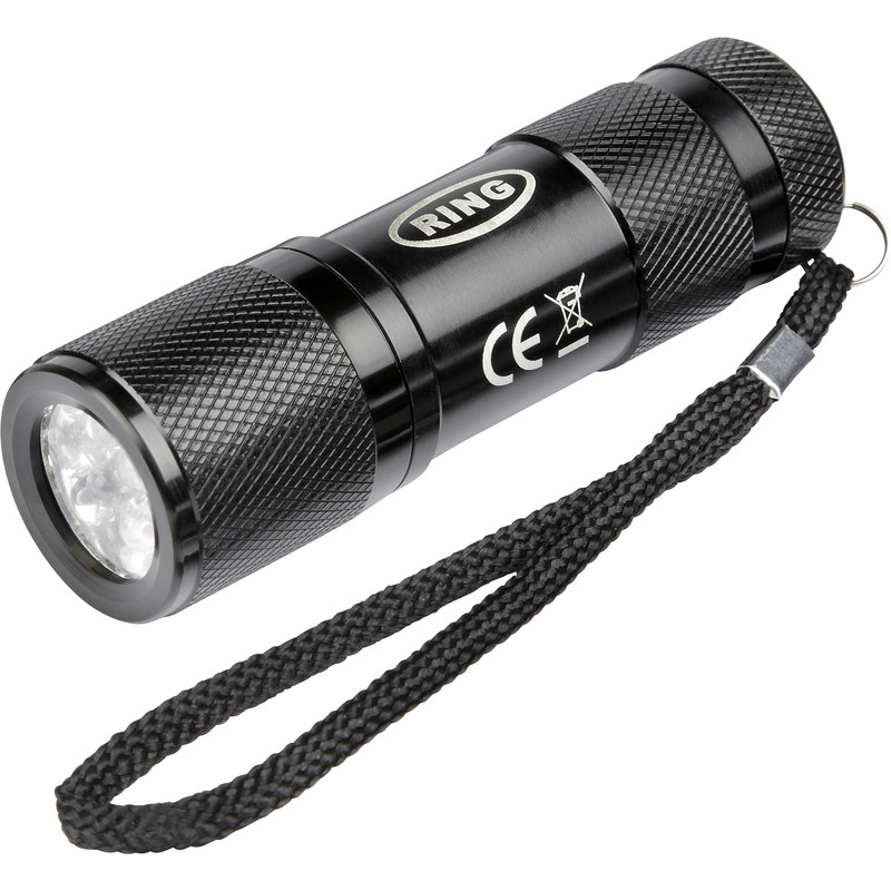 Ring 9 LED Torch