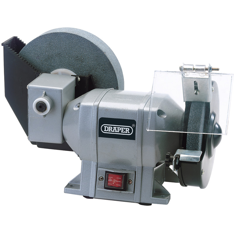 Draper 250W Wet and Dry Bench Grinder