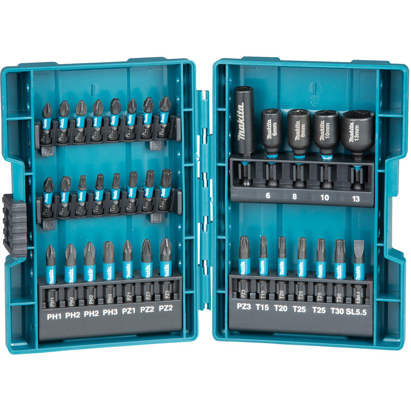 Makita 35 Piece Impact Bit Set