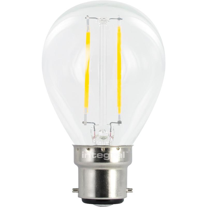 Integral LED Filament Ball Lamp