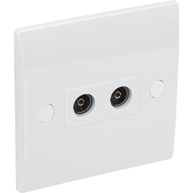Axiom Low Profile Coaxial Socket