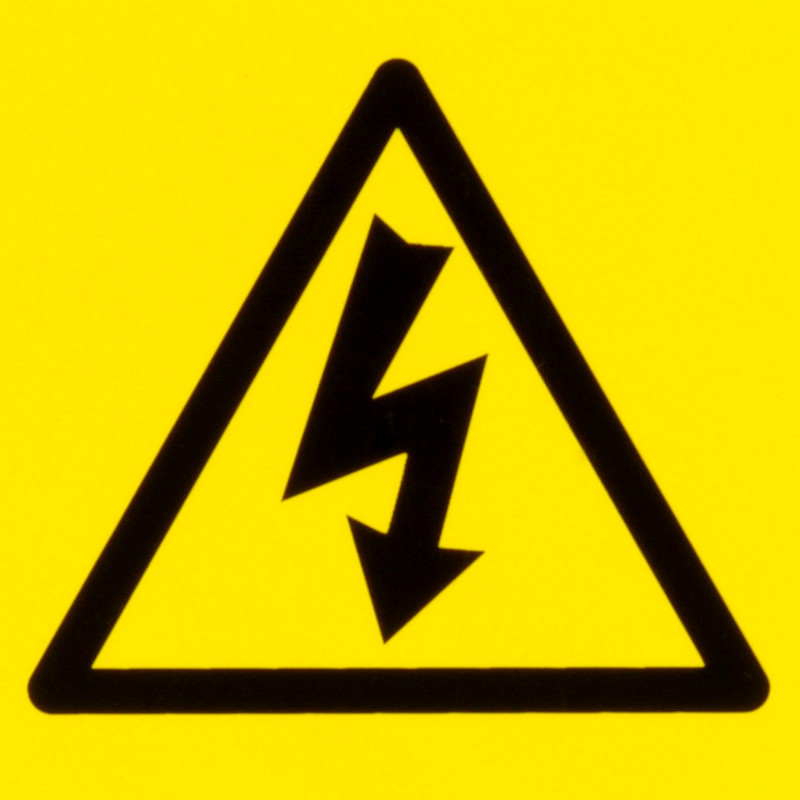 Electrical Warning Signs Electric Flash