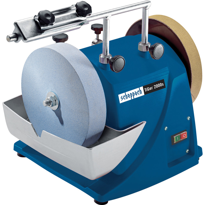 Scheppach 120W 200mm Wet Stone Sharpener