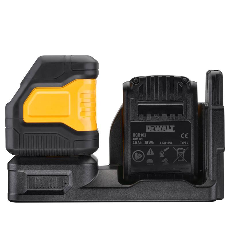 DeWalt DCE088D1G18-GB 18V Laser Level Green