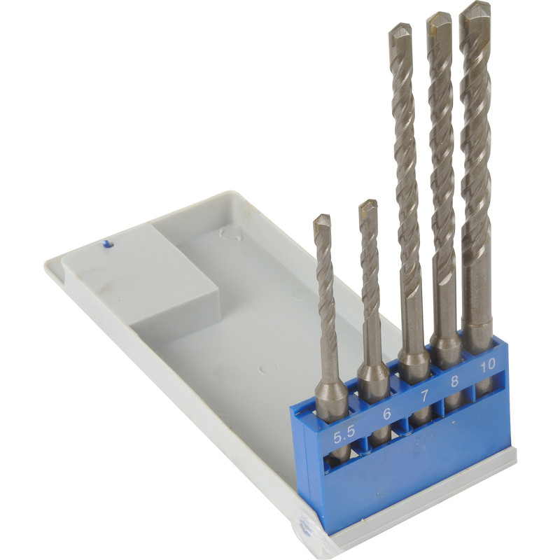 SDS Plus Masonry Drill Bit Set