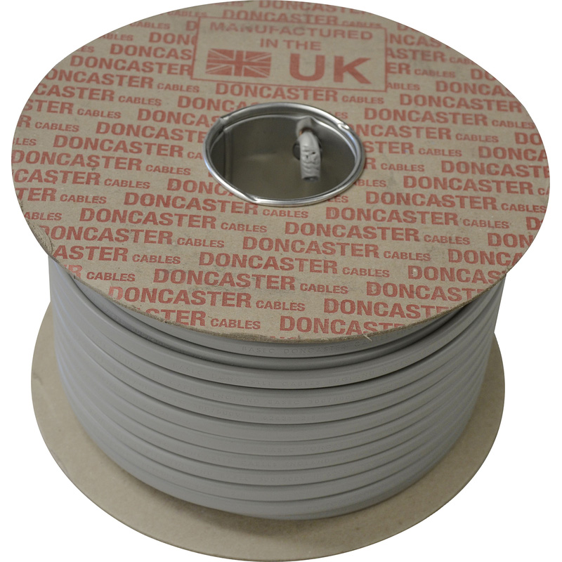 Doncaster Cables Twin & Earth Cable (6242Y) 2 Brown Cores