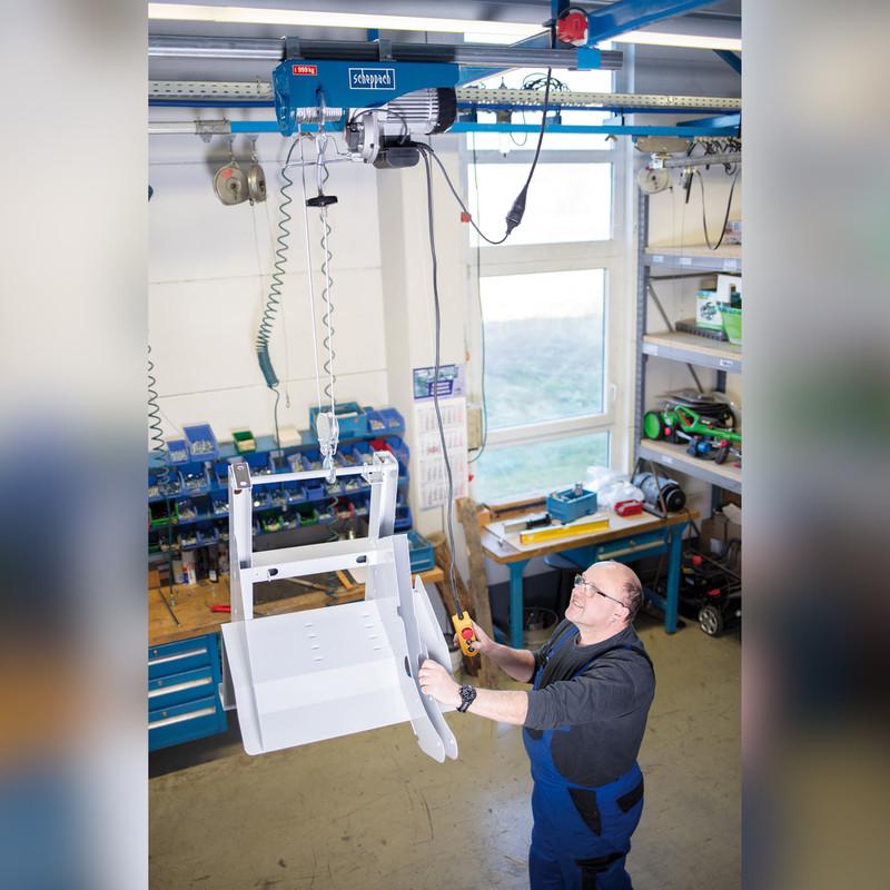 Scheppach HRS1000 1600W 999kg Electric Hoist