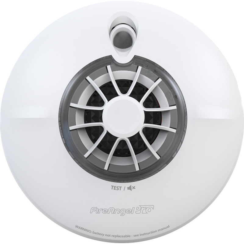 FireAngel Pro Connected Wireless Battery Interlink Heat Alarm