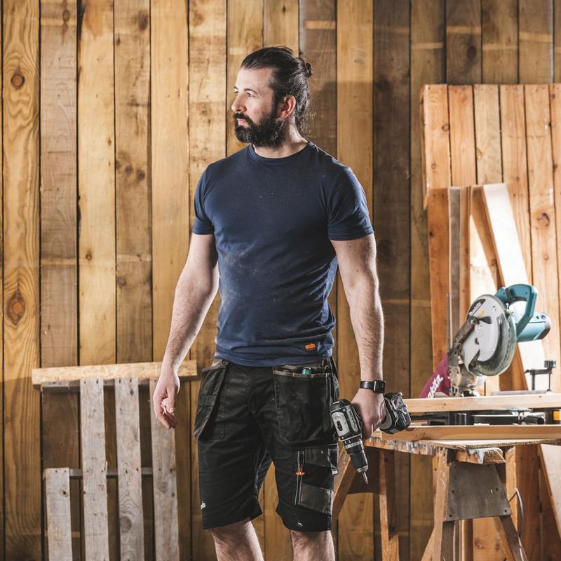 Scruffs Worker T-Shirt Navy