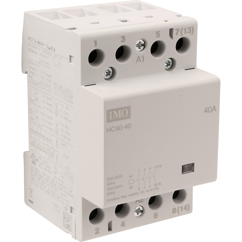 IMO 4 Pole Heating Contactor