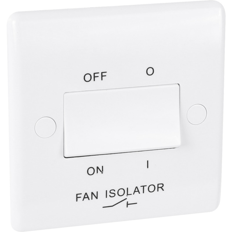 BG 10A Low Profile Fan Isolator