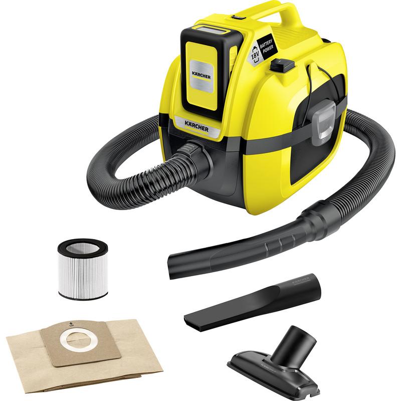Karcher WD 1 18V Cordless Compact Wet & Dry Vacuum