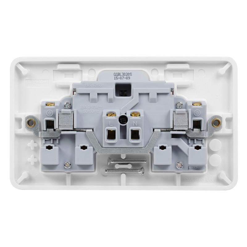 Schneider Electric Lisse Switched Socket