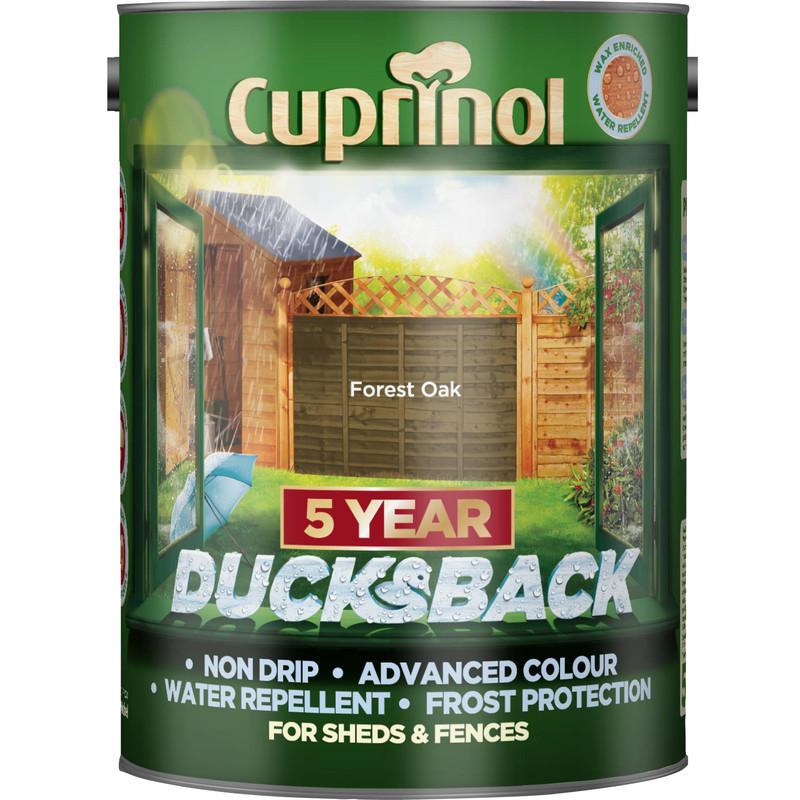 Cuprinol Ducksback Shed & Fence Treatment 5L