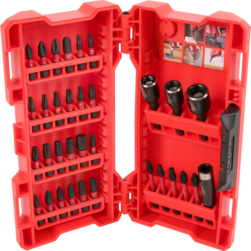 Milwaukee Shockwave Screwdriver & Nut Driver Bit Set