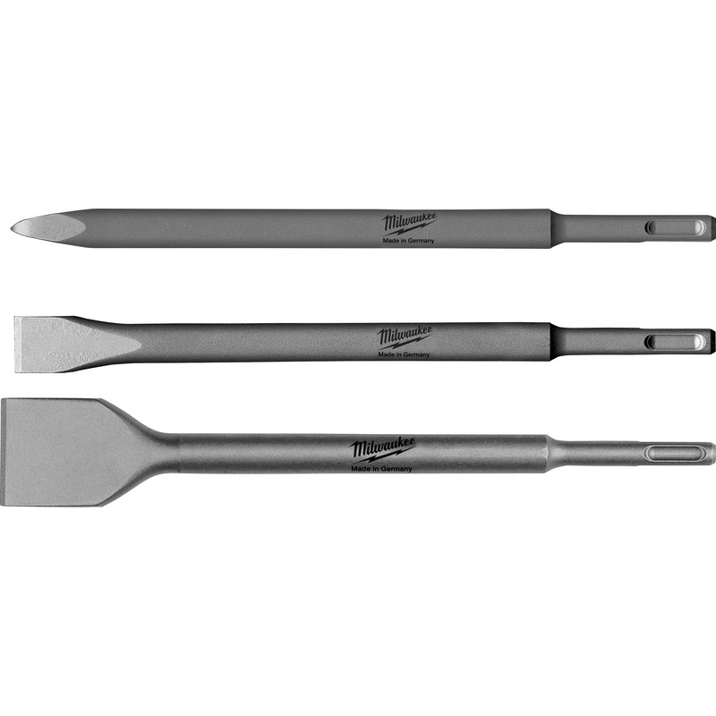 Milwaukee SDS Plus Chisel Set
