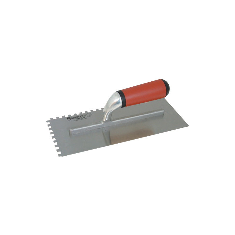 Notched Adhesive Trowel