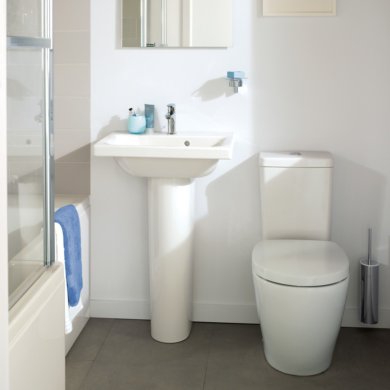 Ideal Standard Senses Cube Basin & Pedestal