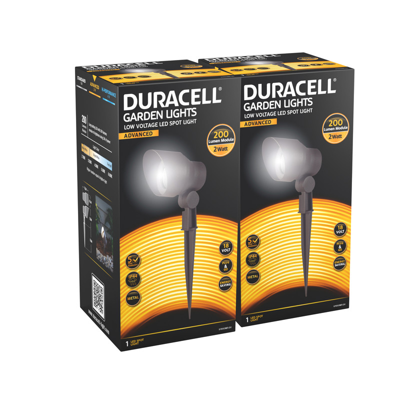Duracell Spot 200 LV LED Garden Light IP44