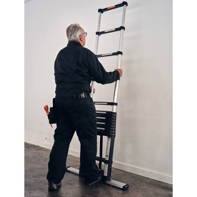 Xtend+Climb SuperPro Series Telescopic Ladder Inc Stabilser