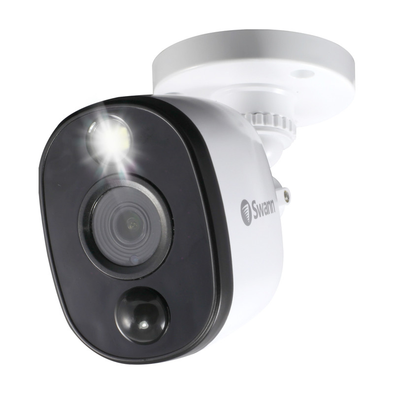 Swann 1080P DVR add on Camera Bullet with Warning Light