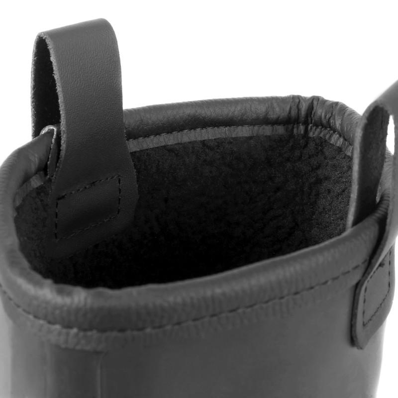 Amblers FS90 Black Safety PVC Rigger Boots