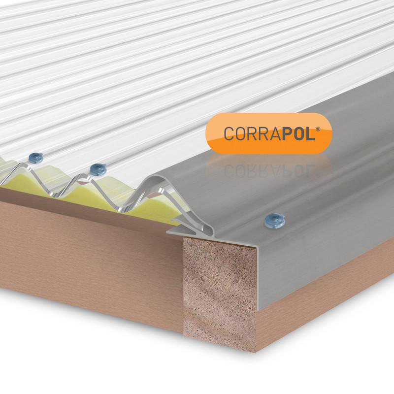 Corrapol Pvc Wall Flashing 950 X 220mm