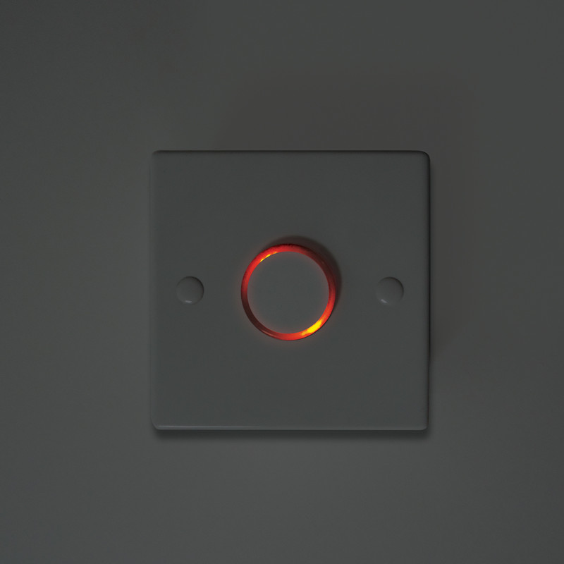Electronic Time Delay Push Switch