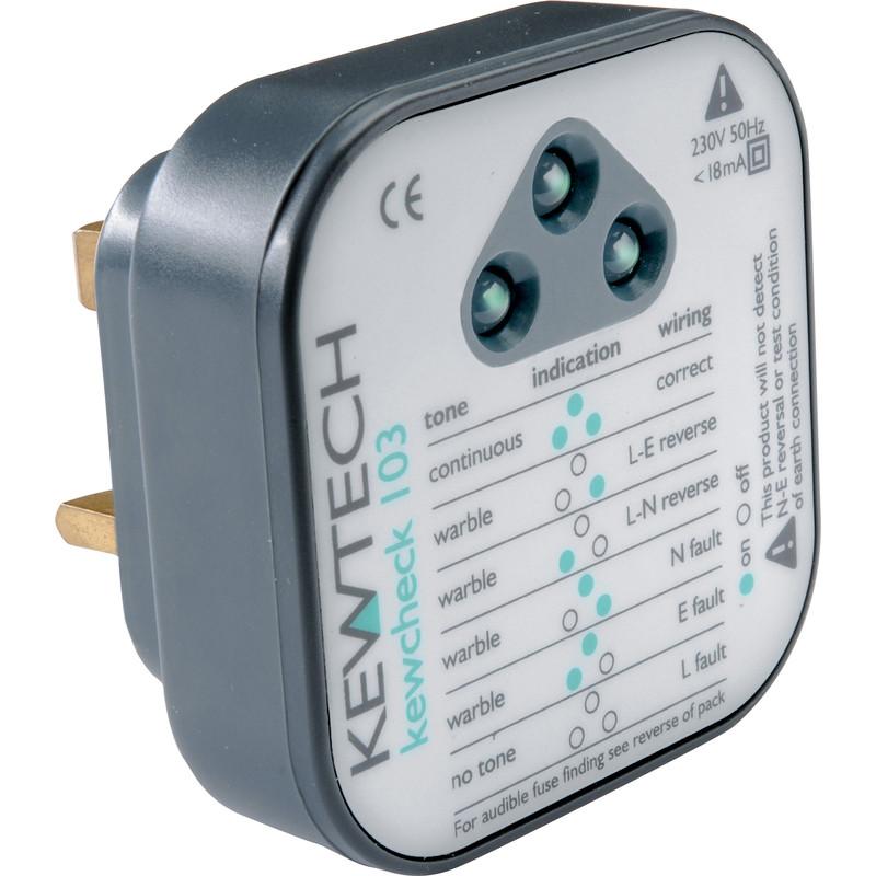 Kewtech Kewcheck 103 Socket Tester
