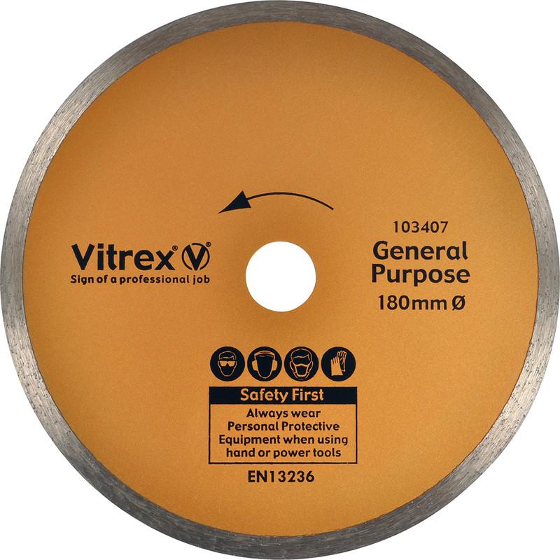 Vitrex Tile & Ceramic Cutting Diamond Blade