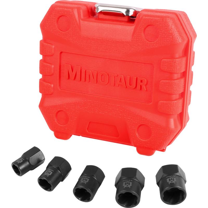 Minotaur Bolt Grip Nut Remover Set